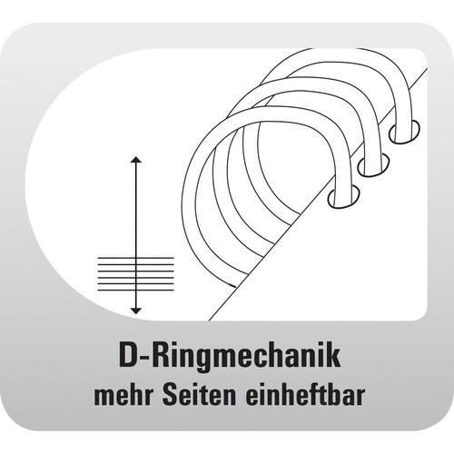 Organizer Standard Compact Midi für 96x172mm schwarz Chronoplan 50174 Produktbild Additional View 3 L