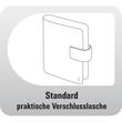 Organizer Standard Compact Midi für 96x172mm schwarz Chronoplan 50174 Produktbild Additional View 4 S