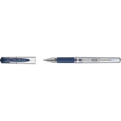 Gelroller Uniball SIGNO UM-153 1,0 mm blau/schwarz Faber Castell 146879 Produktbild Front View L