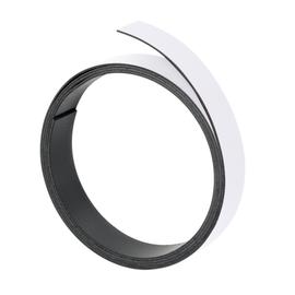 Magnetband 1m x 15mm weiß beschriftbar Franken M803 09 Produktbild