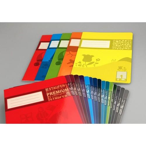 Heft Premium A5 Lineatur 27 Rand links+rechts 16Blatt 90g weiß Staufen 734010377 Produktbild Additional View 5 L