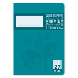 Heft Premium A5 Lineatur 27 Rand links+rechts 16Blatt 90g weiß Staufen 734010377 Produktbild