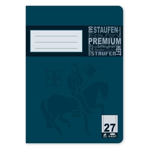 Heft Premium A5 Lineatur 27 Rand links+rechts 16Blatt 90g weiß Staufen 734010377 Produktbild Additional View 1 L