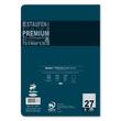 Heft Premium A5 Lineatur 27 Rand links+rechts 16Blatt 90g weiß Staufen 734010377 Produktbild Additional View 2 S