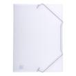 Eckspanner Oxford A4 für 50Blatt farblos PP 100421022 Produktbild