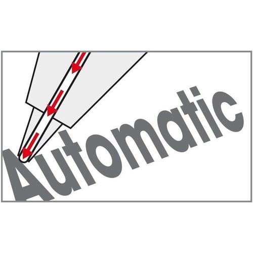 Druckbleistift mit Gummigriffzone GRIP-MATIC 1375 mit autom. Minenvorschub 0,5mm grün Faber Castell 137563 Produktbild Additional View 1 L