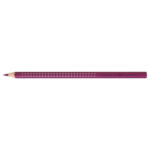 Farbstift mit Noppen COLOUR GRIP dreikant magenta Faber Castell 112433 Produktbild