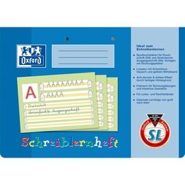 Schreiblernheft Oxford A4 quer Lineatur SL (Bayern) 16Blatt 90g Optik Paper 100050305 Produktbild