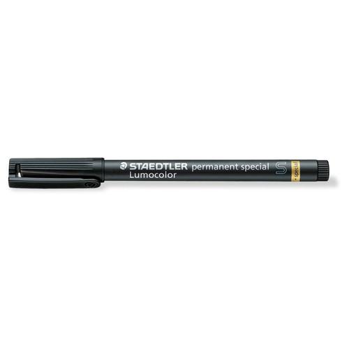 Permanentmarker Lumocolor special S 0,4mm superfein schwarz wetterfest Staedtler 319S-9 Produktbild