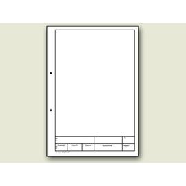 Zeichenblock Original Kieser A4 Lin.12 25Blatt weiß 10-42237 Produktbild