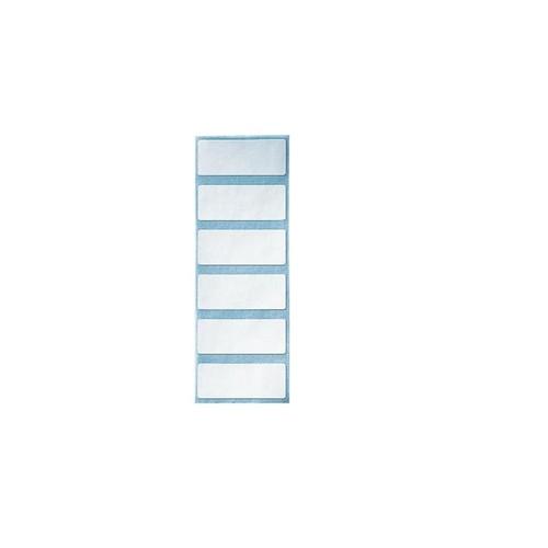 Beschriftungsschildchen endlos 50x20mm weiß selbstklebend Leitz 6009-00-01 (BTL=108 STÜCK) Produktbild Front View L