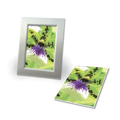 Fotopapier Inkjet Premium 10x15cm 250g weiß seidenmatt Zweckform C2552-50 (PACK=50 BLATT) Produktbild Additional View 1 L
