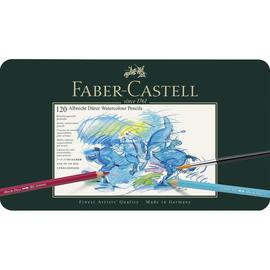 Aquarellstifte ALBRECHT DÜRER Blechetui farbig sortiert Faber Castell 117511 (ETUI=120 STÜCK) Produktbild