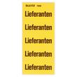 Inhaltsschilder Lieferanten gelb Leitz 1508-00-00 (BTL=100 STÜCK) Produktbild