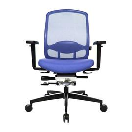 Drehstuhl Alu Medic 5 mit Armlehnen ohne Kopfstütze mit Dondola dunkelblau Topstar Z40BHTT8H Produktbild