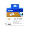 Einzeletikettenrollen Adress-Etiketten 38x90mm Thermopapier Brother DK-11208 (PACK=400 STÜCK) Produktbild Additional View 1 S