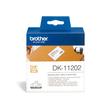 Einzeletikettenrollen Versand-Etiketten 62x100mm Thermopapier Brother DK-11202 (PACK=300 STÜCK) Produktbild Additional View 1 S