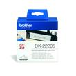 Endlosetikettenrolle 62mmx30,48m weiß Papier Brother DK-22205 (PACK=30,48 METER) Produktbild Additional View 1 S