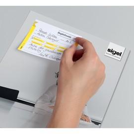Haftnotizen Formular Begleitnotiz 100x75mm Papier Sigel HF142 (PACK=50 BLATT) Produktbild