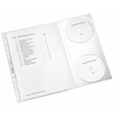 Prospekthüllen mit CD-Klappe A4 120µ PP genarbt Leitz 4761-30-03 (PACK=5 STÜCK) Produktbild
