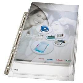 Prospekthüllen Maxi Stabil A4 170µ farblos PVC genarbt Leitz 4755-30-03 (PACK=3 STÜCK) Produktbild
