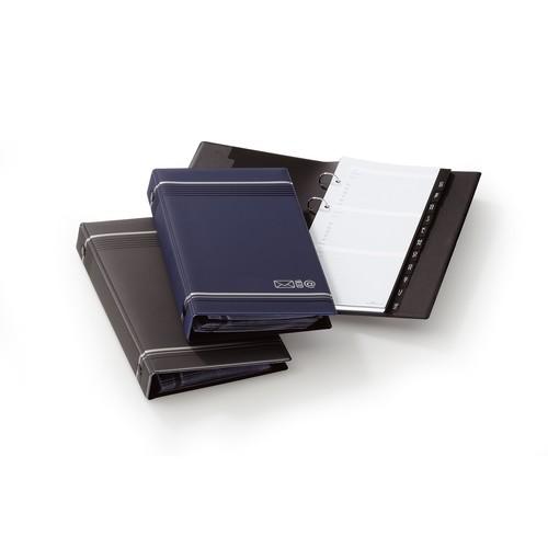 Telefonringbuch Telindex erweiterbar 145x255mm 25Blatt anthrazit Durable 2375-58 Produktbild Additional View 1 L
