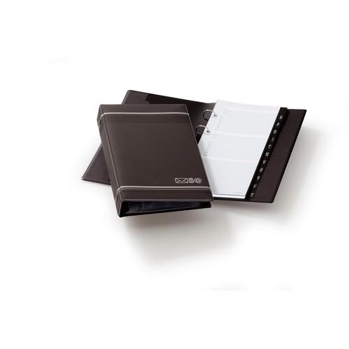 Telefonringbuch Telindex erweiterbar 145x255mm 25Blatt anthrazit Durable 2375-58 Produktbild
