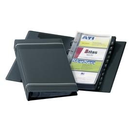 Visitenkartenringbuch mit Register Visifix erweiterbar 145x255mm anthrazit Durable 2385-58 Produktbild