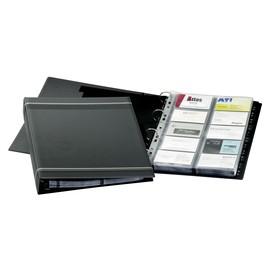 Visitenkartenringbuch mit Register Visifix erweiterbar A4 anthrazit Durable 2388-58 Produktbild