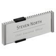 Türschild INFO SIGN 153x60mm silber Aluminium Durable 4800-23 Produktbild