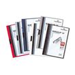 Klemmmappe Duraclip30 A4 bis 30Blatt anthrazit/grau Hartfolie Durable 2200-57 Produktbild Additional View 2 S