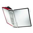 Sichttafelwandhalter SHERPA WALL 10 5621 + je 5 Sichttafeln 5606 schwarz + grau Durable 5631-22 Produktbild Additional View 3 S