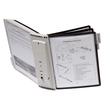 Sichttafelwandhalter SHERPA WALL 10 5621 + je 5 Sichttafeln 5606 schwarz + grau Durable 5631-22 Produktbild Additional View 6 S