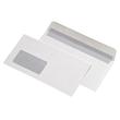 Briefumschlag mit Fenster DIN lang 110x220mm mit Haftklebung 80g weiß (PACK=25 STÜCK) Produktbild Additional View 1 S