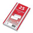 Briefumschlag selbstklebend weiß 75g/m2 DIN lang+ 125x229mm / ohne Fenster / (PACK=25 STÜCK) Produktbild Additional View 2 S