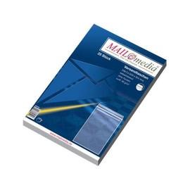 Versandtasche ohne Fenster C4 229x324mm selbstklebend 90g weiß (PACK=25 STÜCK) Produktbild
