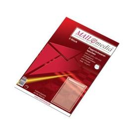 Versandtasche ohne Fenster mit Papprückwand C4 229x324mm mit Haftklebung 120g weiß (PACK=5 STÜCK) Produktbild