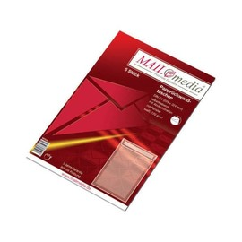 Versandtasche mit Fenster und Papprückwand C4 229x324mm mit Haftklebung 120g weiß (PACK=5 STÜCK) Produktbild