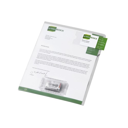 Diktathülle für 1 Kassette A4 beige Durable 2347-16 Produktbild Front View L