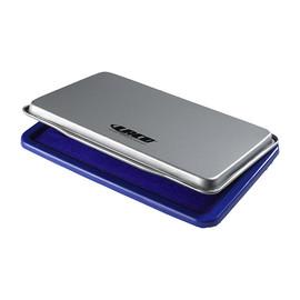 Stempelkissen Größe 2 7x11cm blau Metall BestStandard KF25209 Produktbild