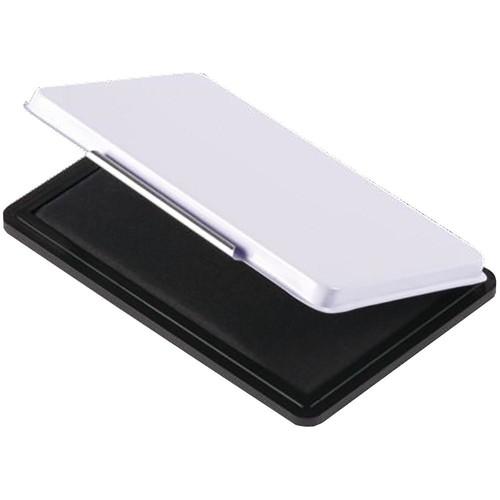 Stempelkissen Größe 2 7x11cm schwarz Metall BestStandard KF25211 Produktbild Front View L