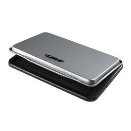 Stempelkissen Größe 2 7x11cm schwarz Metall BestStandard KF25211 Produktbild