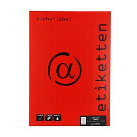 Etiketten Inkjet+Laser+Kopier 105x48mm weiß 5905 (PACK=1200 STÜCK) Produktbild