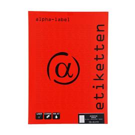 Etiketten Inkjet+Laser+Kopier 105x42,3mm auf A4 Bögen weiß 5920 (PACK=1400 STÜCK) Produktbild