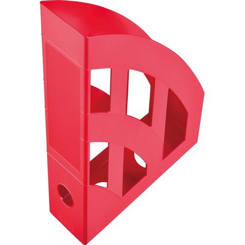 Stehsammler Economy 75x243x315mm rot Kunststoff Helit H2361025 Produktbild