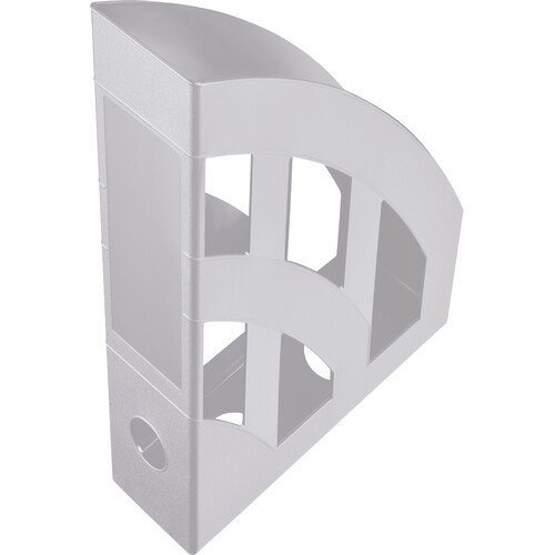 Stehsammler Economy 75x243x315mm lichtgrau Kunststoff Helit H2361082 Produktbild