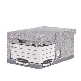 Archivbox FastFold mit Klappdeckel 378x287x545mm Fellowes 1181501 Produktbild