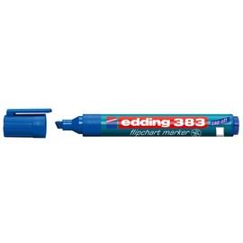 Flipchartmarker 383 1-5mm Keilspitze blau Edding 4-383003 Produktbild
