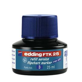 Flipchartmarker-Nachfülltusche FTK25 für 380+383 25ml blau Edding 4-FTK25003 Produktbild