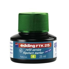 Flipchartmarker-Nachfülltusche FTK25 für 380+383 25ml grün Edding 4-FTK25004 Produktbild